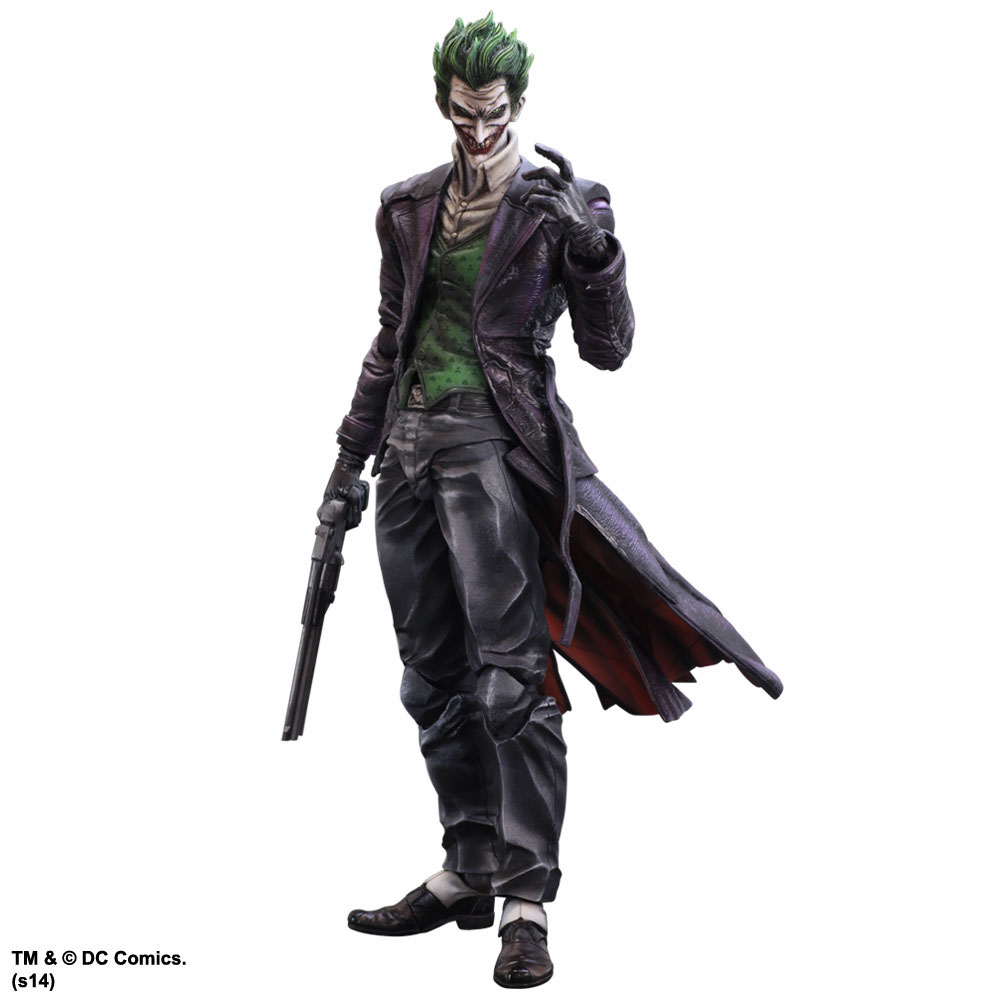 Batman Arkham Origins Play Arts Kai Action Figure The ...