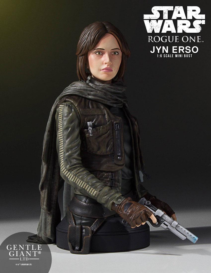 Star Wars Rogue One Bust 1/6 Jyn Erso (Seal Commander) 16