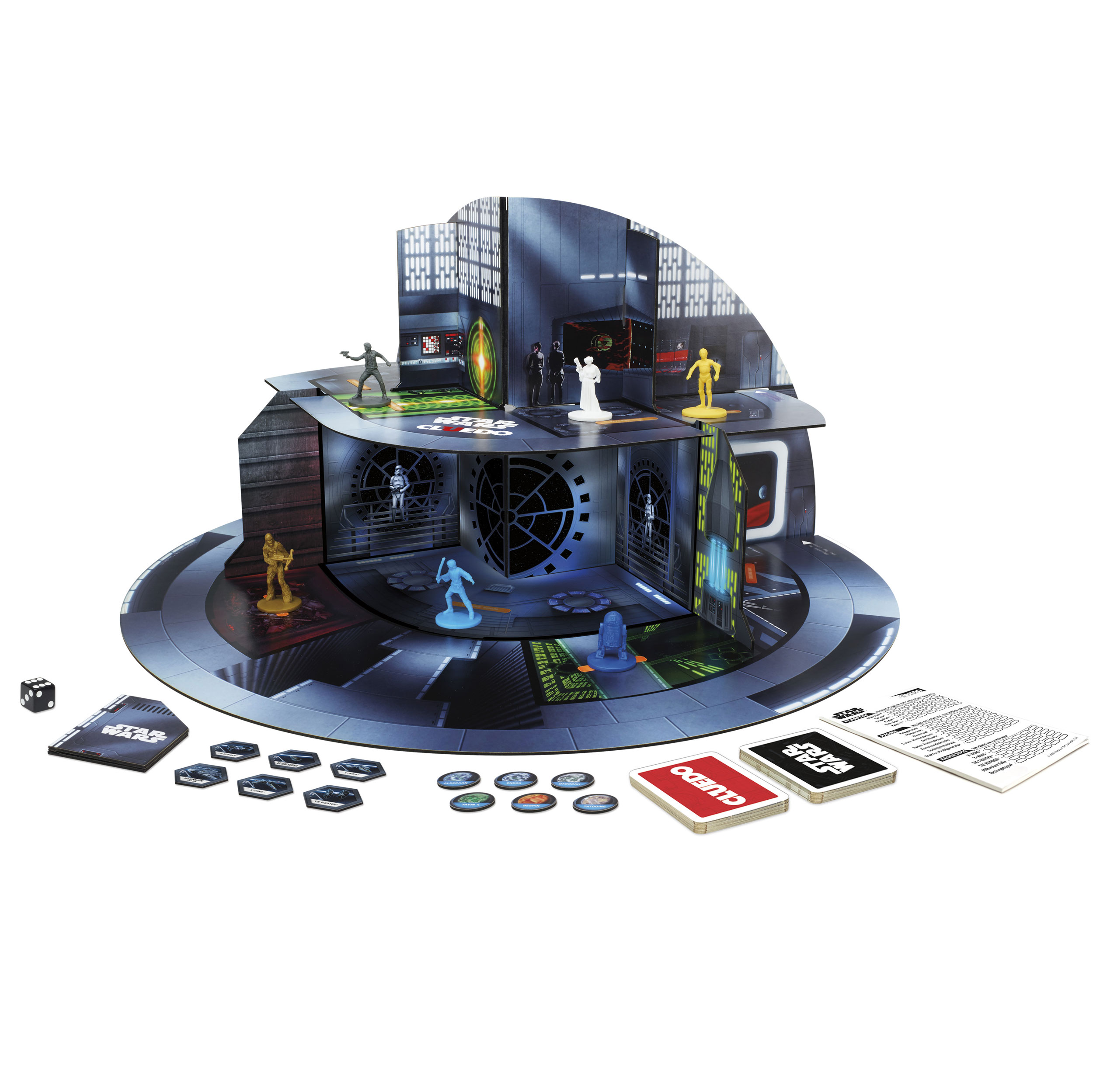 Cluedo Anime: Star Wars Board Game Cluedo *German Version*