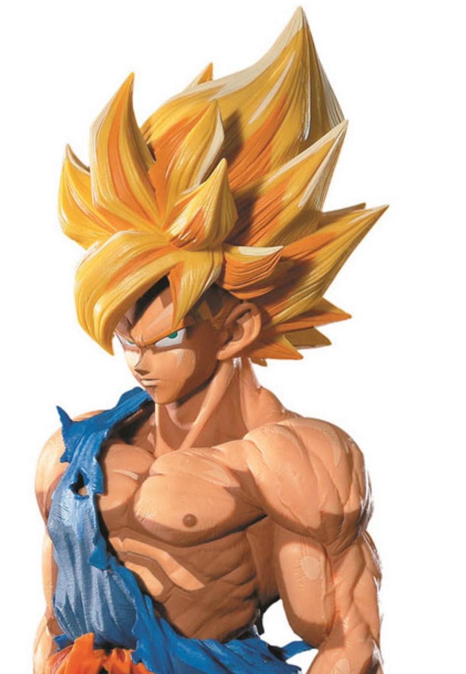 Dragonball Z Master Stars Piece Figure Super Saiyan Goku ...