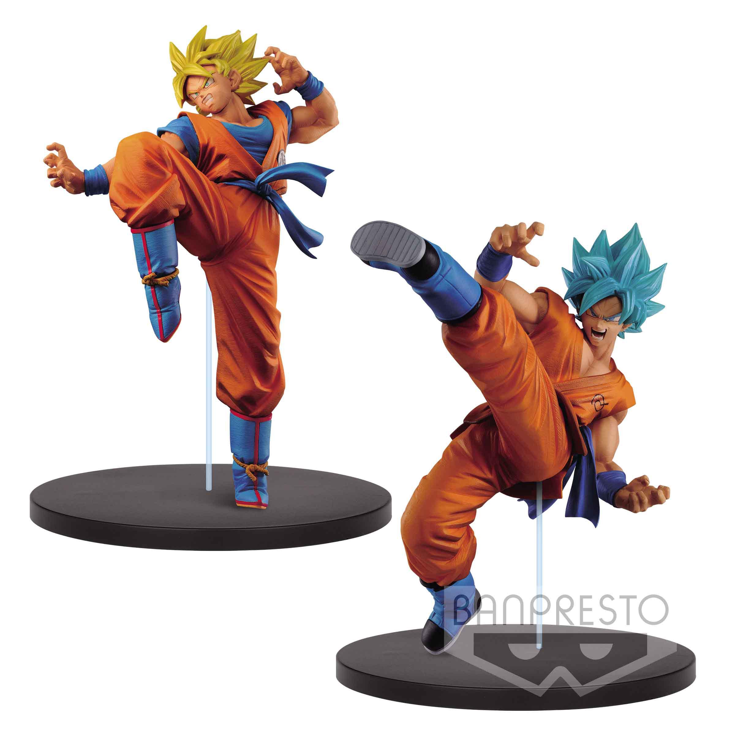 Dragonball Super Son Goku Fes Figures 20 cm SSJ Goku & SSJ ...
