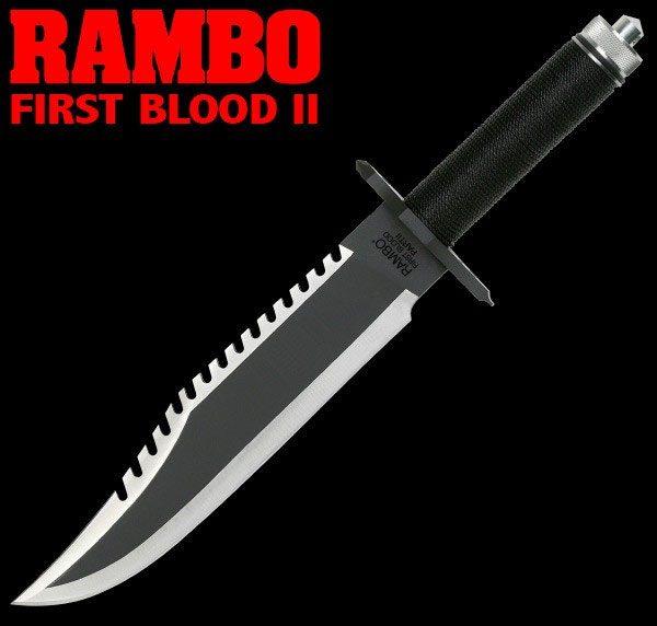 Rambo II First Blood Part II John Rambo Knife Standard ...
