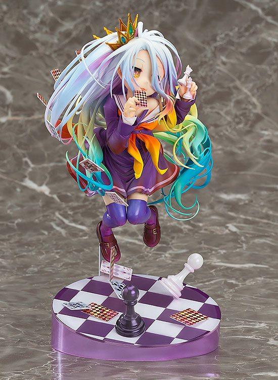 No Game No Life Statue 1/8 Shiro 19 Cm