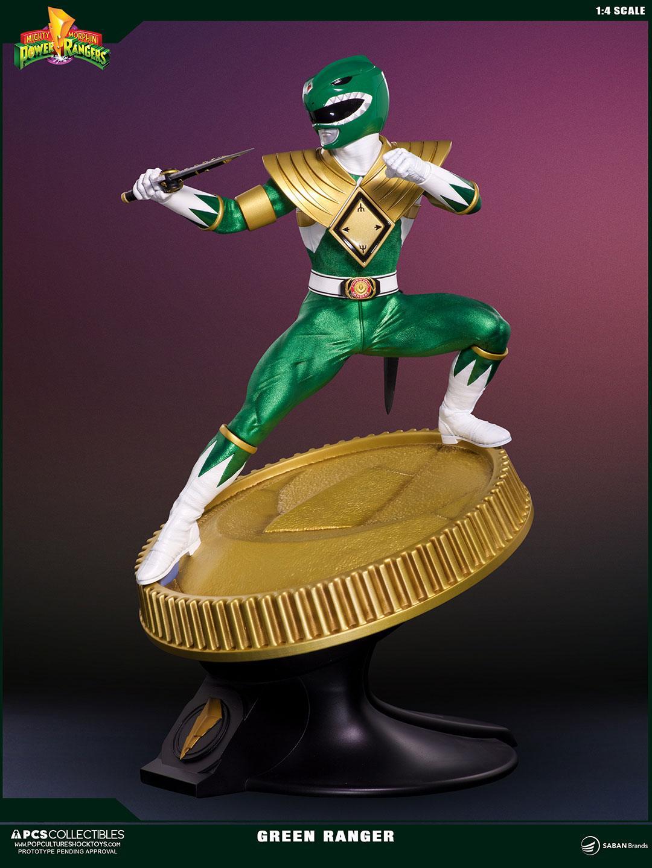 Sabans Power Rangers PCS Collectibles White Ranger Statue
