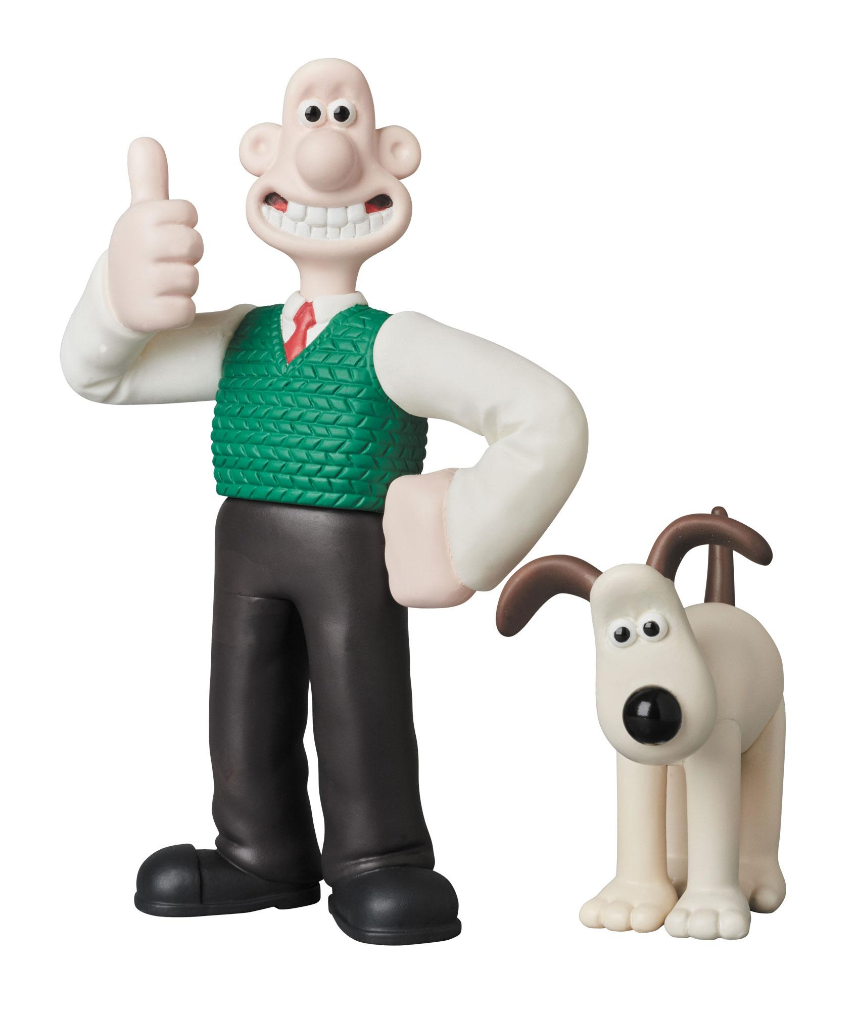 Wallace And Gromit Toys : Wallace gromit udf aardman animation mini figure pack