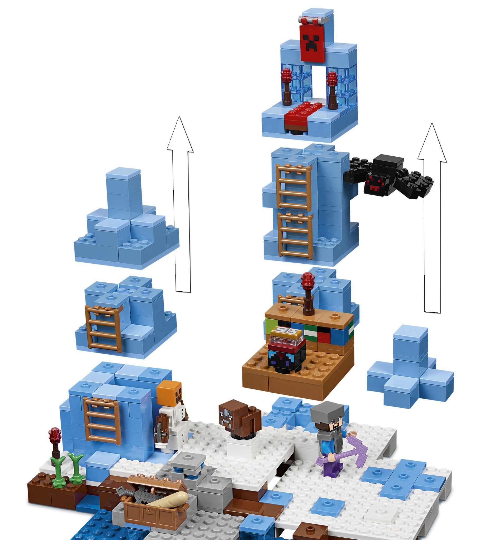 LEGO® Minecraft™ The Ice Spikes - Animegami Store
