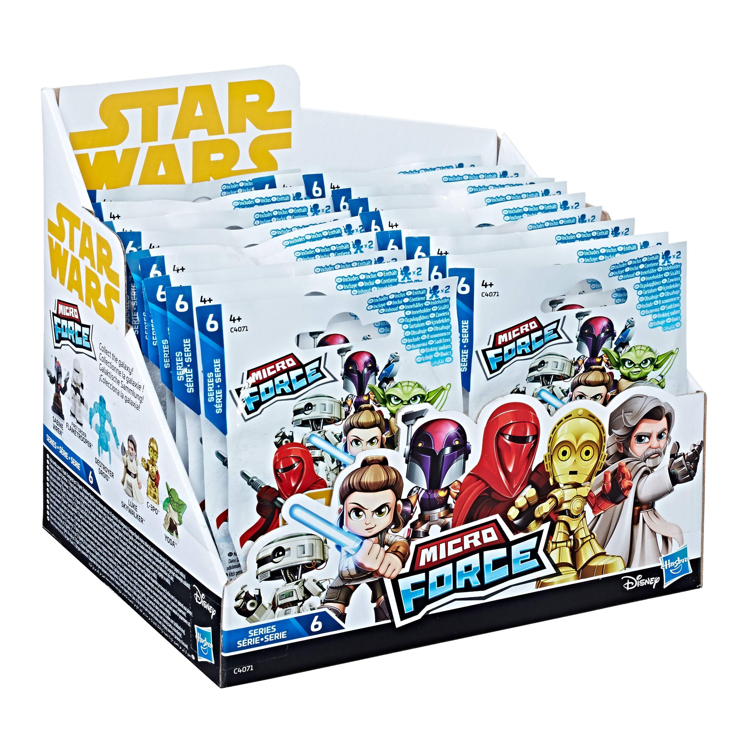 Star Wars Micro Force Mini Figures Blind Bags 2018 Series