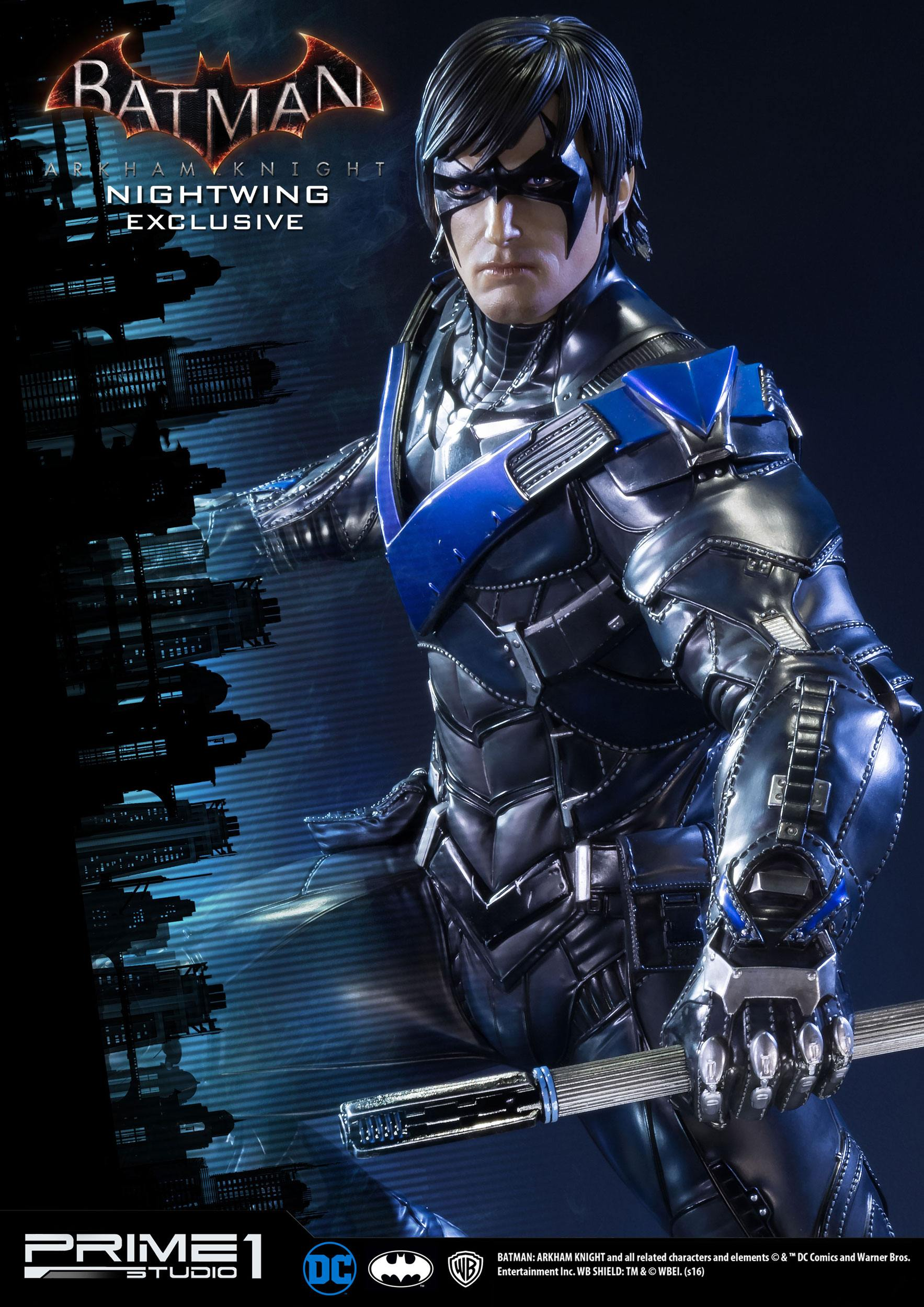Batman Arkham Knight 1/3 Statue Nightwing Exclusive 69 cm ...