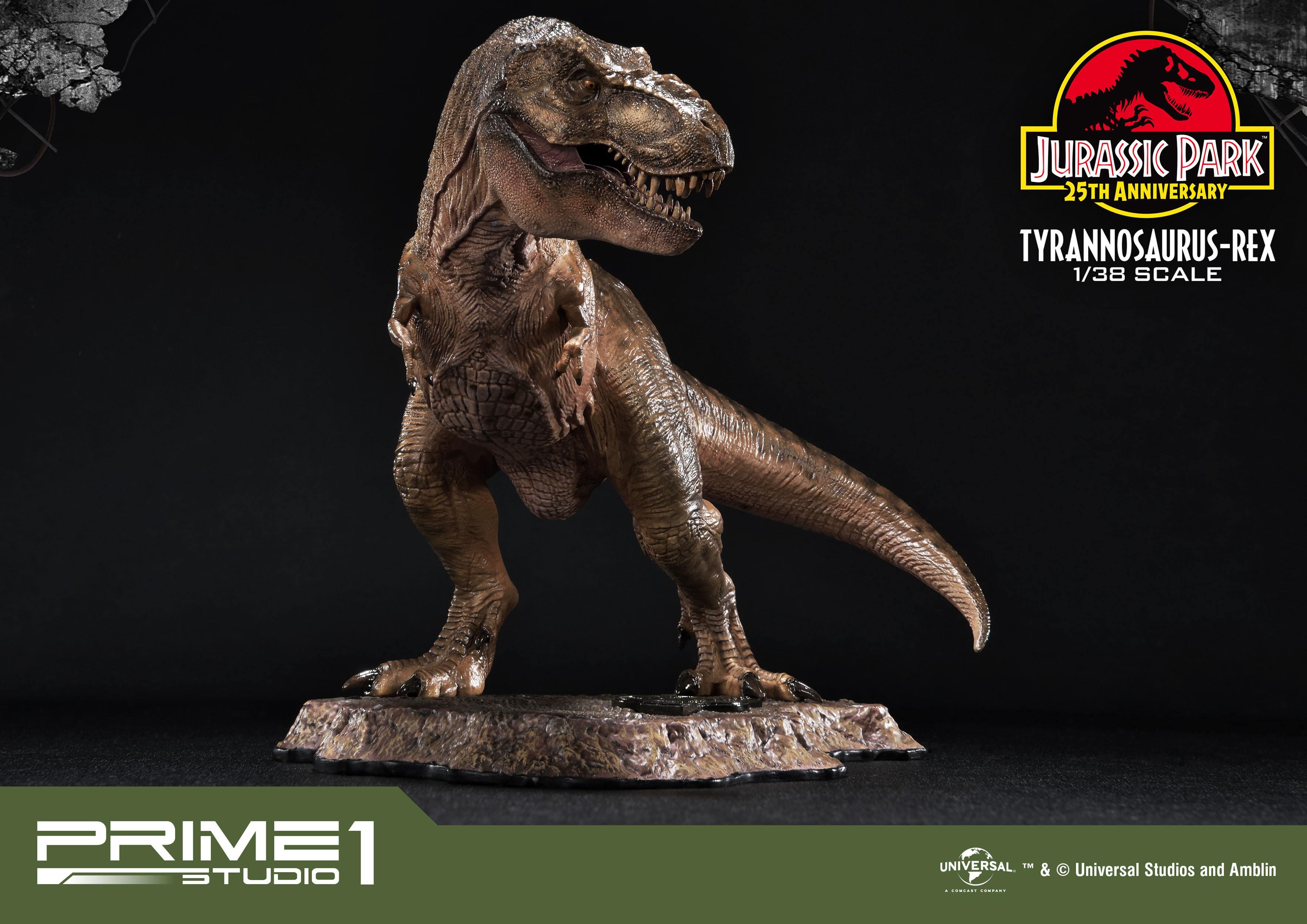 Jurassic park prime collectibles pvc statue 1 38 tyrannosaurus rex 18 cm animegami store - Dinosaure de jurassic park ...