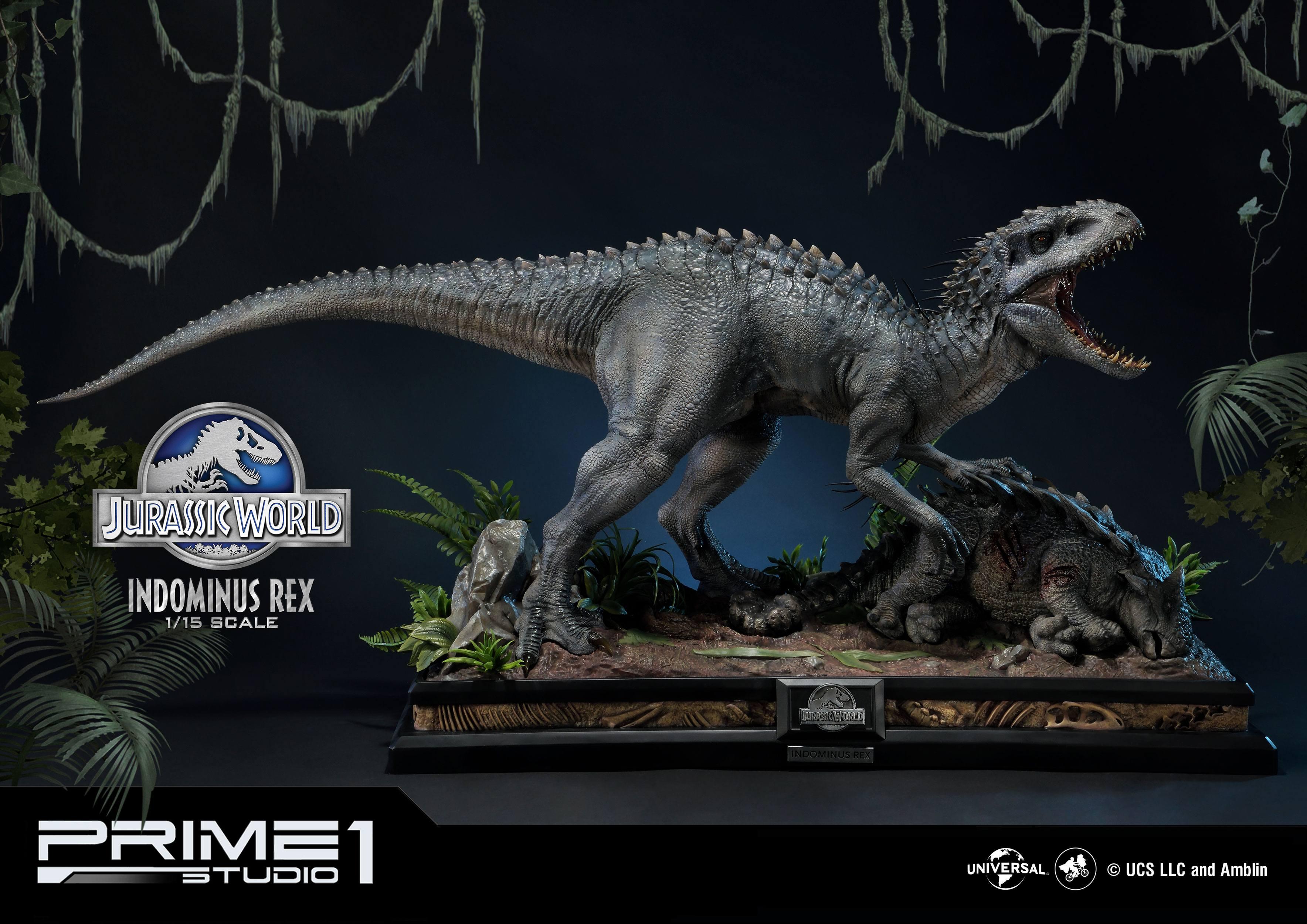 Jurassic World Fallen Kingdom Statue 1 15 Indominus Rex 105 Cm Animegami Store