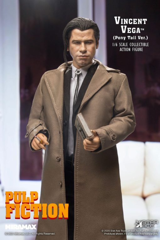 Pulp Fiction My Favourite Movie Action Figure 1/6 Vincent Vega 2.0 (Pony Tail) 30 cm