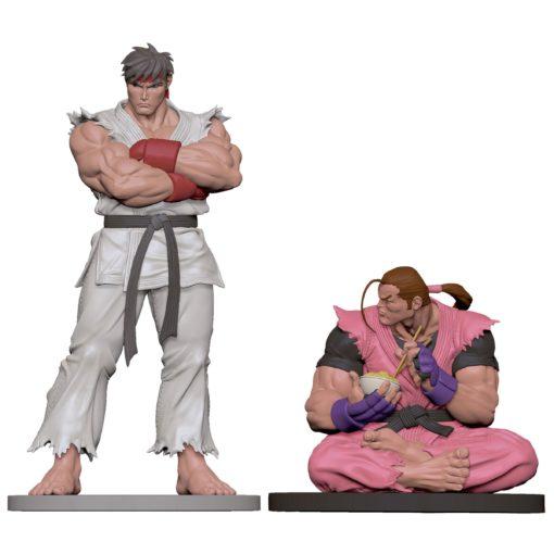 Street Fighter PVC Statues 1/8 Ryu & Dan