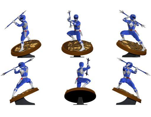 Mighty Morphin Power Rangers PVC Statue Blue Ranger 23 cm
