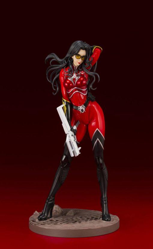 G.I. Joe Bishoujo PVC Statue 1/7 Baroness The Crimson Strike Team Red Version PX Exclusive 23 cm