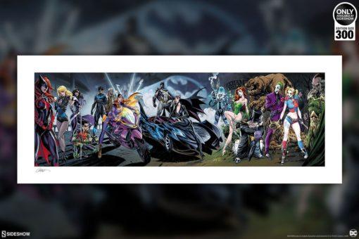 DC Comics Art Print Batman #50 96 x 38 cm – unframed
