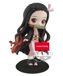 Demon Slayer Kimetsu no Yaiba Q Posket Mini Figure Nezuko Kamado Ver. A 14 cm