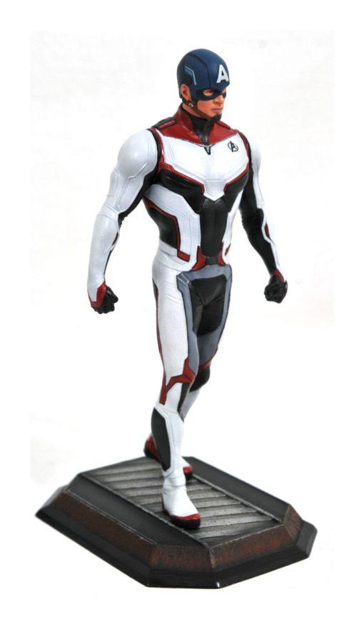 Avengers Endgame Marvel Movie Gallery PVC Statue Team Suit Captain America Exclusive 23 cm