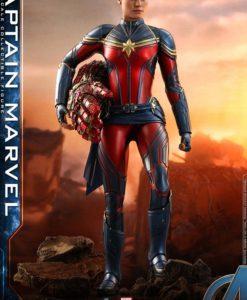 Avengers: Endgame Movie Masterpiece Series PVC Action Figure 1/6 Captain Marvel 29 cm