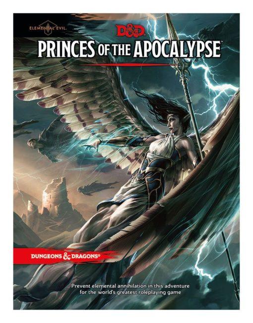 Dungeons & Dragons RPG Adventure Elemental Evil – Princes of the Apocalypse english