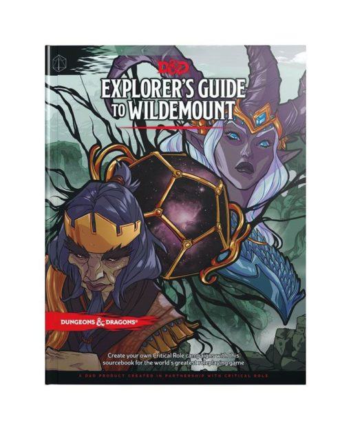 Dungeons & Dragons RPG Adventure Explorer's Guide to Wildemount english