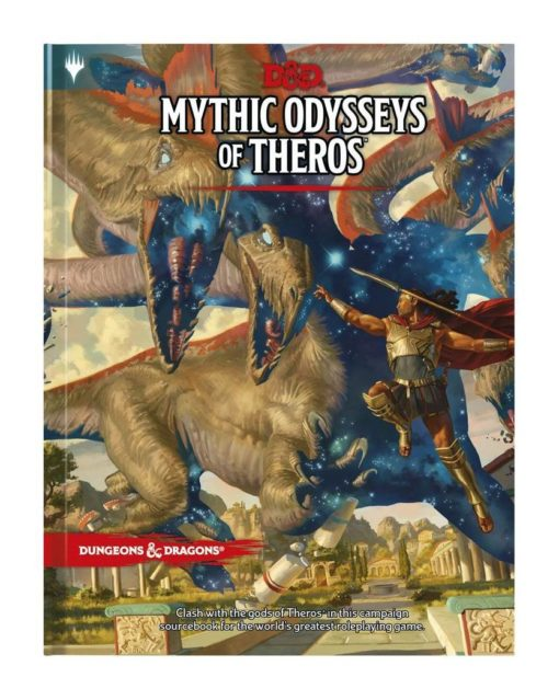 Dungeons & Dragons RPG Adventure Mythic Odysseys of Theros english