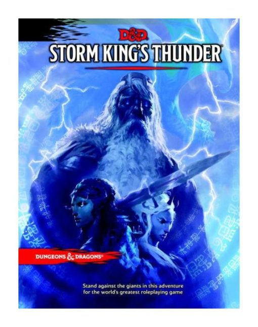 Dungeons & Dragons RPG Adventure Storm King's Thunder english