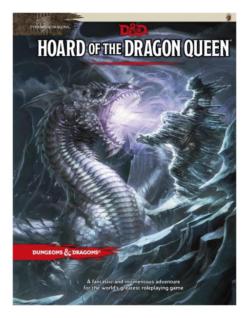 Dungeons & Dragons RPG Adventure Tyranny of Dragons – Hoard of the Dragon Queen english