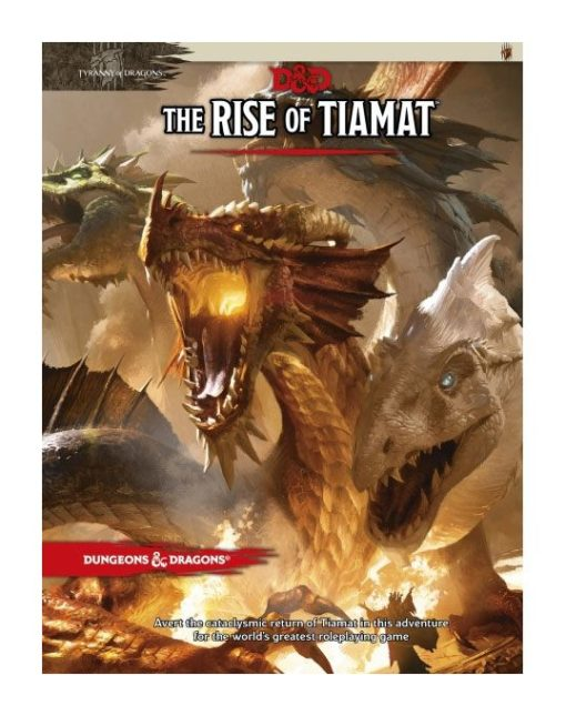 Dungeons & Dragons RPG Adventure Tyranny of Dragons – The Rise of Tiamat english