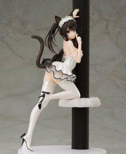 Date A Live III PVC Statue 1/7 Kurumi Tokisaki White Cat Ver. 25 cm