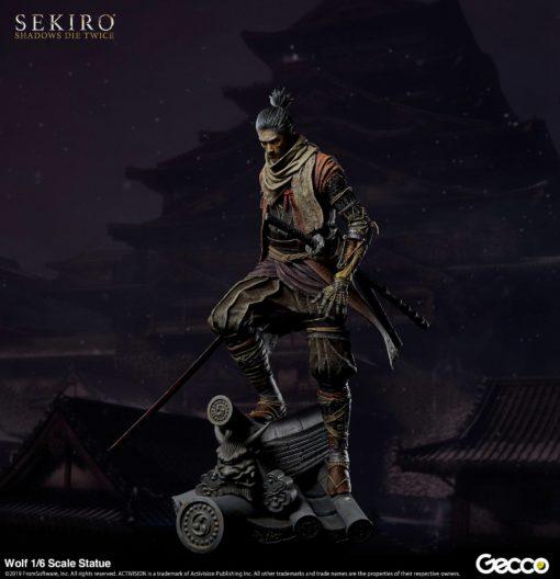 Sekiro: Shadows Die Twice PVC Statue 1/6 Wolf 40 cm