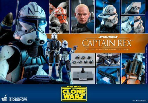 Star Wars The Clone Wars Action Figure 1/6 Captain Rex 30 cm