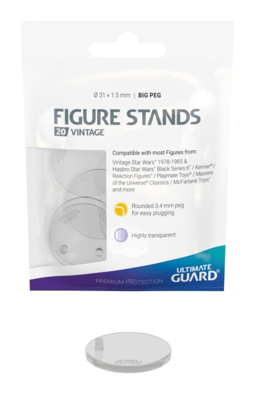 Ultimate Guard Figure Stands Big Peg Vintage (20 pieces)