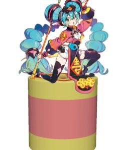 Vocaloid Noodle Stopper PVC Statue Hatsune Miku China Dress (Arcade Game Prize) 20 cm