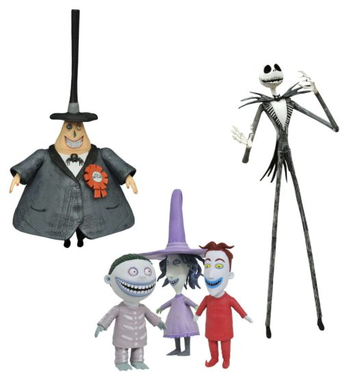 Nightmare before Christmas Select Action Figures 18 cm Best Of Series 1 Assortment (6)