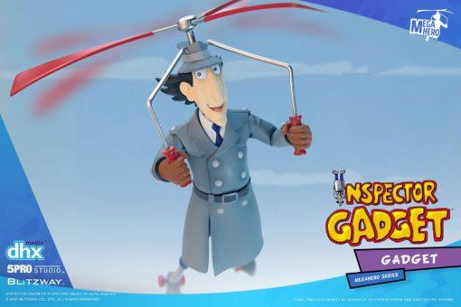Inspector Gadget Mega Hero Action Figure 1/12 Inspector Gadget 17 cm
