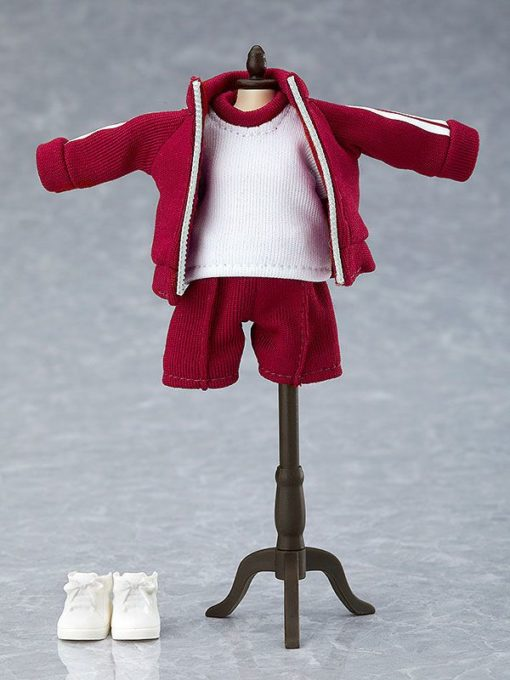 Original Character Parts for Nendoroid Doll Figures Outfit Set (Gym Clothes – Red)