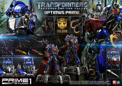 Transformers 2 Statues Optimus Prime & Optimus Prime Exclusive 73 cm Assortment (3)