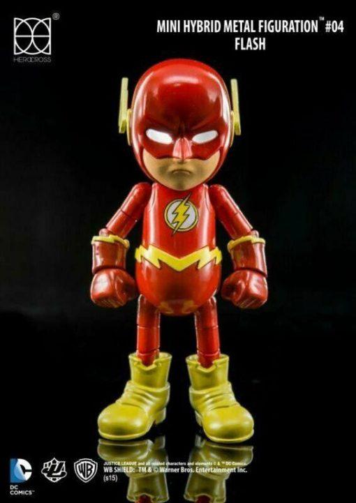 Justice League Mini Hybrid Metal Action Figure The Flash 9 cm