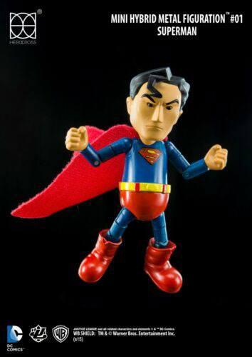 Justice League Mini Hybrid Metal Action Figure Superman 9 cm
