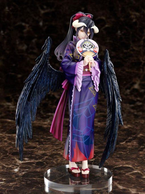 Overlord PVC Statue 1/8 Albedo Yukata Version 23 cm