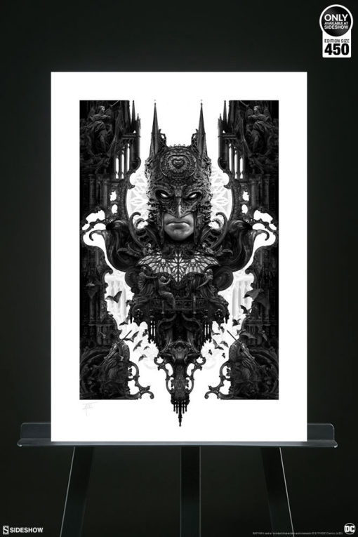 DC Comics Art Print Batman 46 x 61 cm – unframed