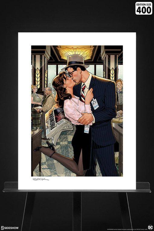 DC Comics Art Print Lois & Clark: Fireworks!! 46 x 61 cm – unframed