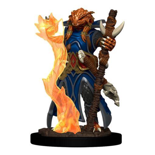 D&D Icons of the Realms Premium Miniature pre-painted Dragonborn Sorcerer Female Case (6)