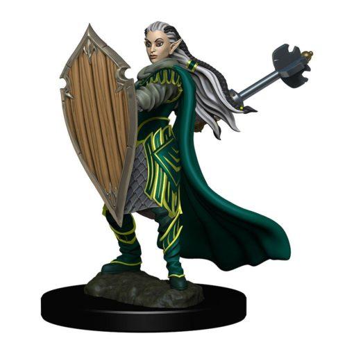 D&D Icons of the Realms Premium Miniature pre-painted Elf Paladin Female Case (6)
