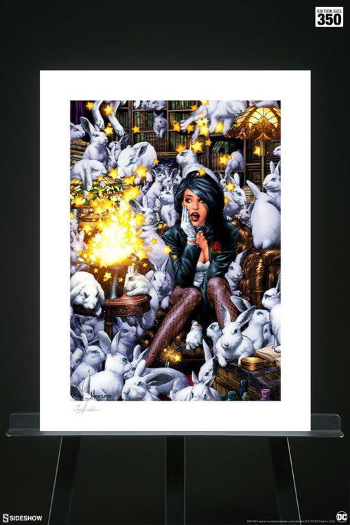 DC Comics Art Print Zatanna 46 x 61 cm – unframed