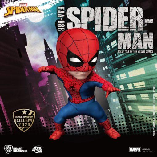 Marvel Egg Attack Action Figure Spider-Man Peter Parker Beast Kingdom Exclusive 16 cm