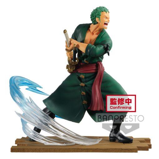 One Piece Log File Selection -Fight- PVC Statue Roronoa Zoro 14 cm
