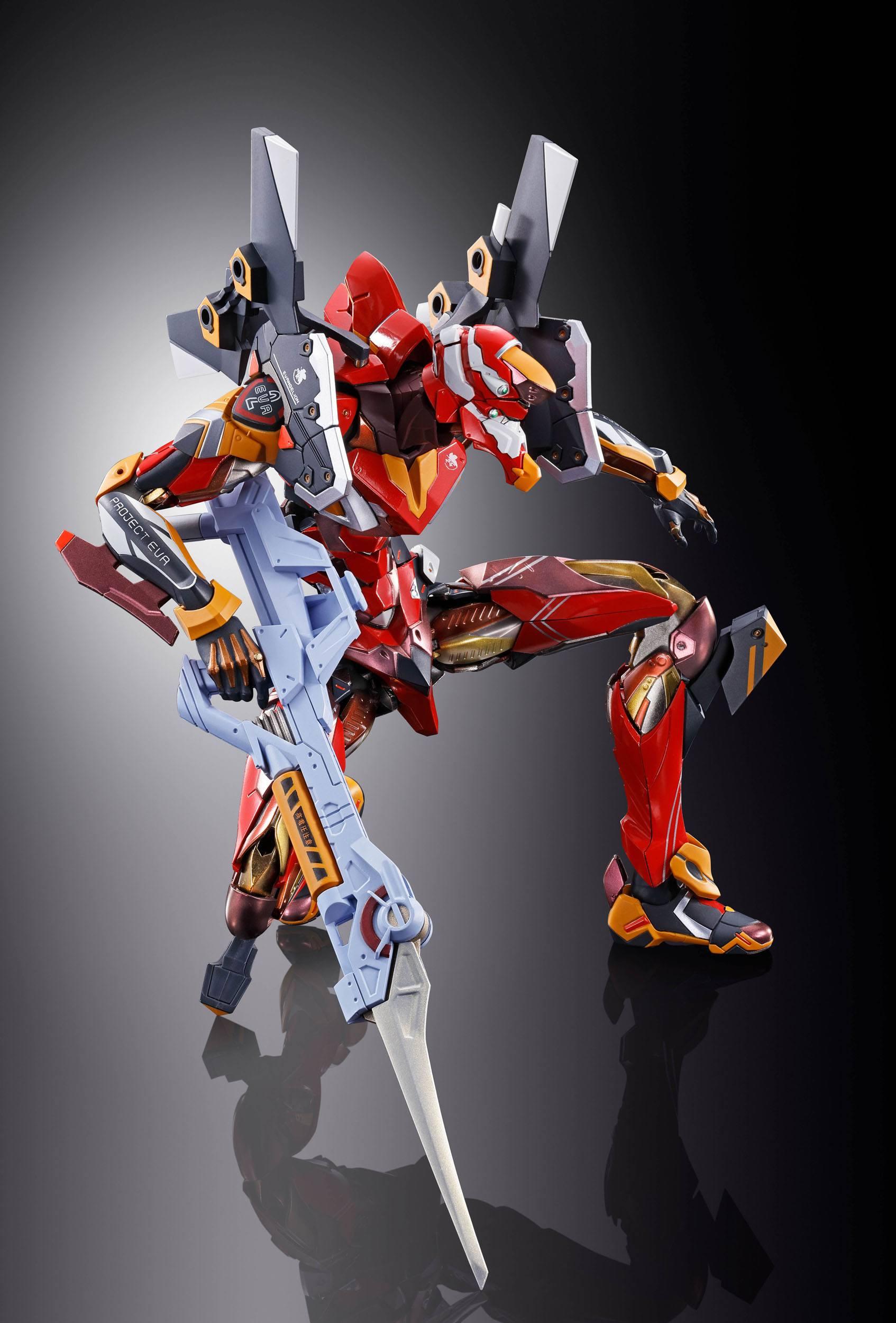 Neon Genesis Evangelion Metal Build Action Figure EVA-02