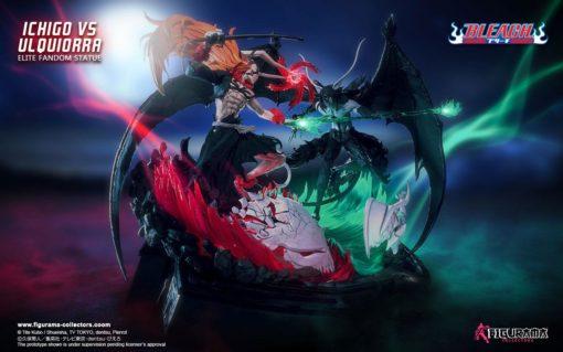 Bleach Elite Fandom Diorama 1/6 Ichigo vs Ulquiorra 52 cm