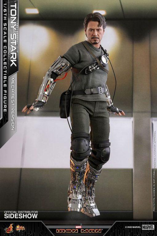 Iron Man Movie Masterpiece Action Figure 1/6 Tony Stark (Mech Test Version) 30 cm